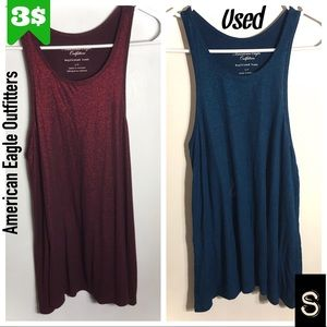 2for3$ Red and Teal Tanks